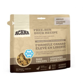 Acana Single Freeze Dried treats Dog Free-Run Duck