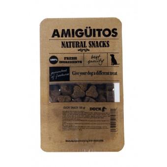 Amiguitos Dogsnack Eend (kip, varken & vis)