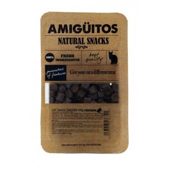 Amiguitos Catsnack Kip (kalkoen, vis & varken)