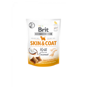Brit Care Funct. Snack Skin & Coat Kril