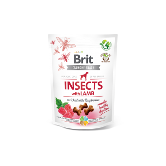 Brit Crunchy Snack Insect & Lam