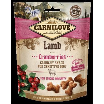 Carnilove Hond Crunchy Snack Lam met Cranberries
