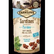 Carnilove Kat Soft Snack Sardines met Peterselie