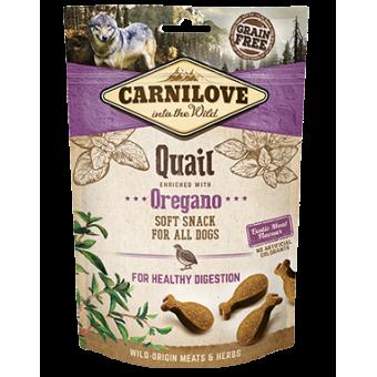 Carnilove Hond Soft Snack Kwartel met Oregano