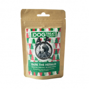 Dog Treat Company Kerst Bark the Herald Kippenlever, salie, kaneel & cranberry