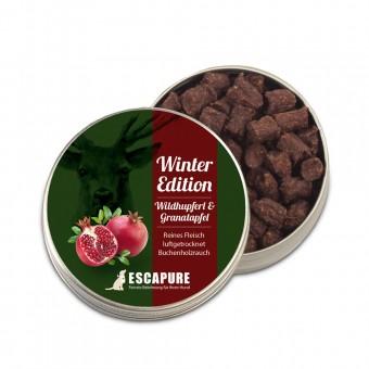 Escapure Hupferl wild met granaatappel
