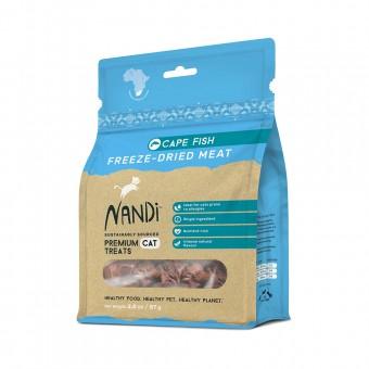 Nandi Freeze Dried Treats Cape Fish