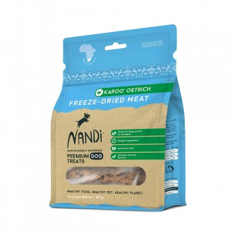 Nandi Freeze Dried Karoo Ostrich