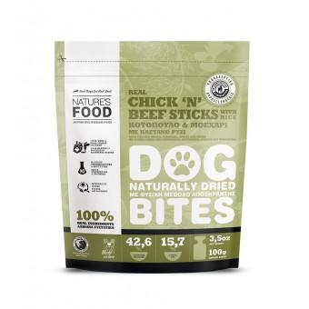 Nature's Food Dog Bites Kip & Rund Sticks