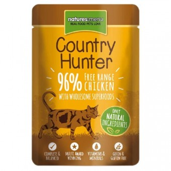Natures Menu Cat Country Hunter Pouch Kip