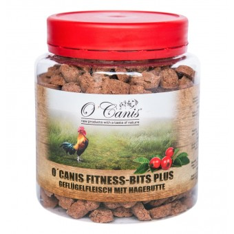 O'Canis Fitness-Bits Gevogelte met Rozenbottel