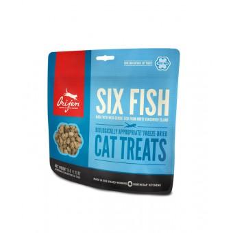 Orijen Freeze Dried Cat Treats 6 Fish