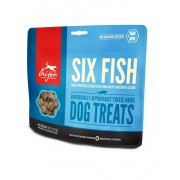 Orijen Freeze Dried Dog Treats 6 Fish