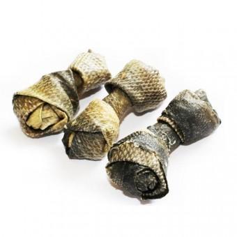 Pet Munchies Salmon skin chew, Medium