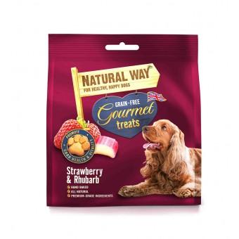 The Natural Way Gourmet strawberry & rhubarb
